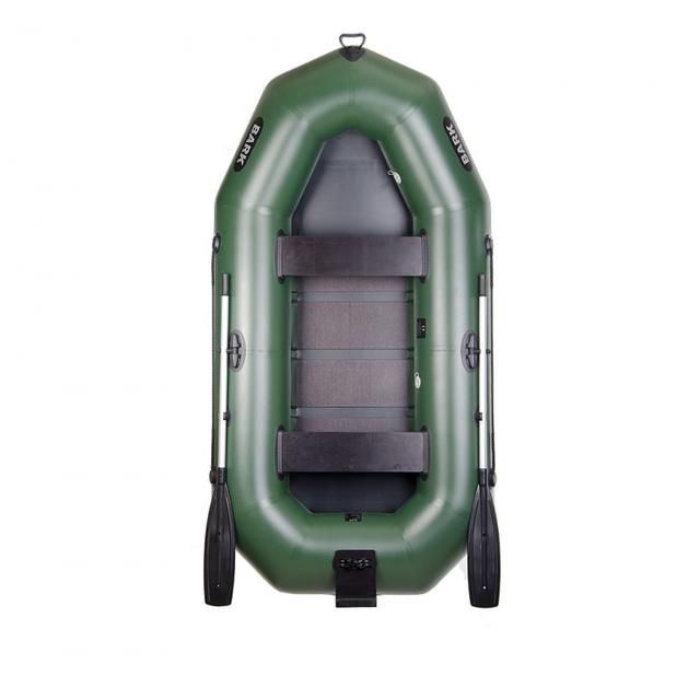 Многослойная гребная надувная лодка Bark (Барк) B-270P с привальным брусом и настилом. Доступно. Код: КГ3046