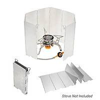 Ветрозащитный экран туристический для горелки плиты TOMSHOO Y3793
