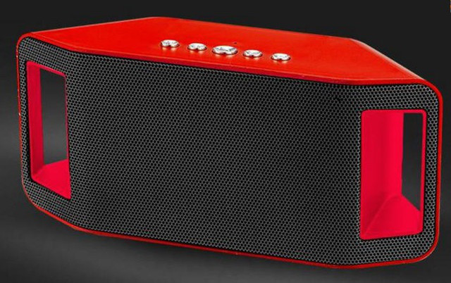 Портативная bluetooth колонка MP3 плеер WS-Y66 Red
