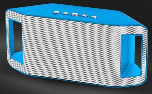 Портативная bluetooth колонка MP3 плеер WS-Y66 Blue