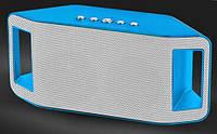 Портативная bluetooth колонка MP3 плеер WS-Y66 Blue, фото 1
