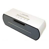 Портативная bluetooth колонка MP3 плеер WS-Y69 White, фото 1