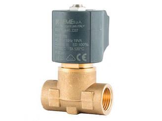 """Клапан 1/2"""", нормально закритий, 8324 VIT150C 230V 50 Hz, соленоїдний електромагнітний, CEME, Італія"""