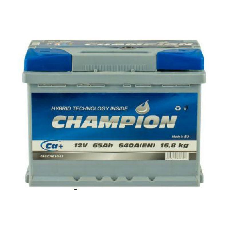 Champion Euro 65 Ah/12V (правый +)