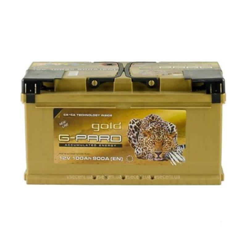 G-Pard Gold Euro  100 Аh/12V (правый +)