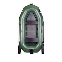 Максимальная гребная надувная лодка Bark (Барк) В-270NP двухместная. Отличное качество. Доступно. Код: КГ3047, фото 1