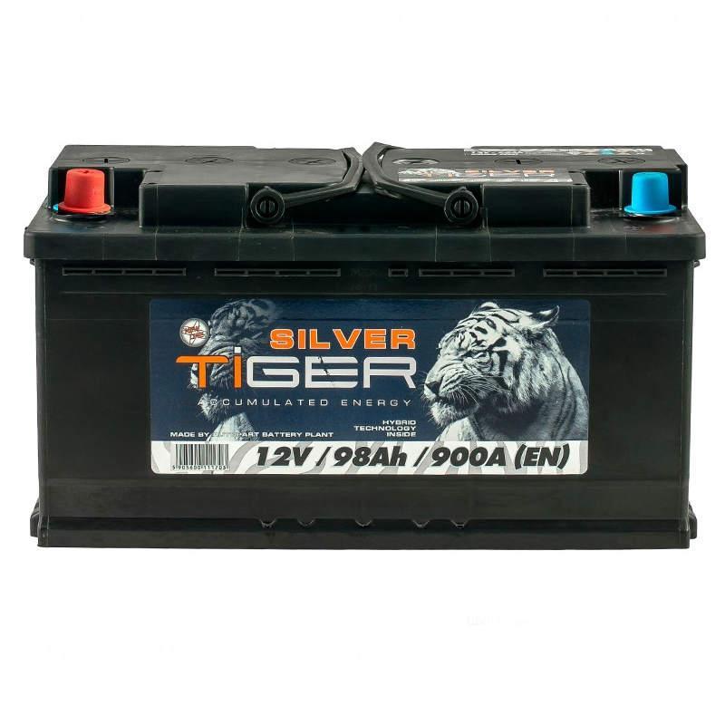 Tiger Silver 98 Аh/12V (левый +)