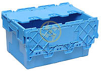 Пластиковые ящики с крышкой 600х400х315, фото 1