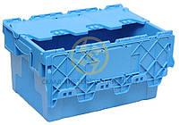Ящик 600*400*315 сплошной с крышкой, фото 1