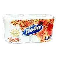 "Туалетная бумага ""ДИВО"" Soft белая на гильзе 2 рулона"