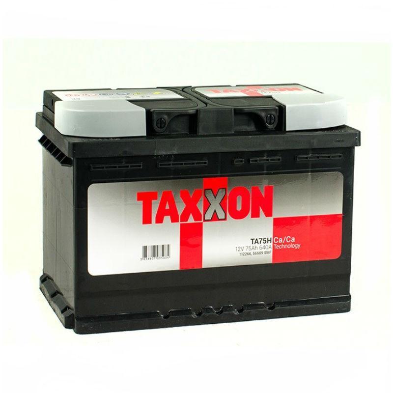Taxxon 75 Ah/12V (левый +)