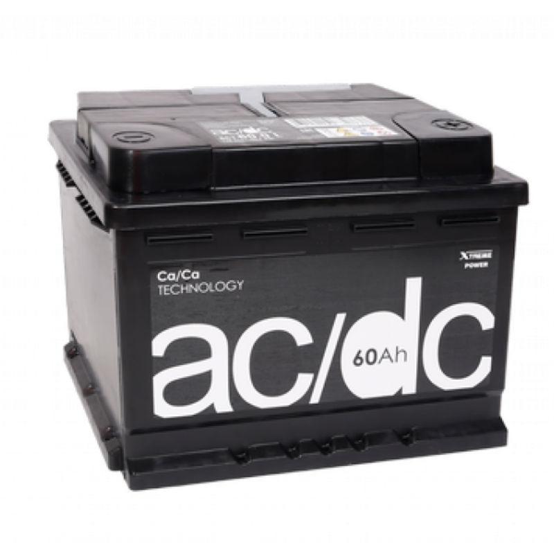 AC/DC Euro 60 Ah 12V (правый +)