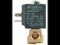 """Клапан 1/4"""" 3мм, нормально-закрытый, 6610 NBR 230V 50 Hz, электромагнитный соленоидный, CEME, Италия"""