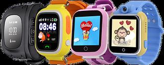 Смарт часы детские с GPS