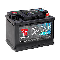 Yuasa 12V 60Ah  AGM Start Stop Plus Battery YBX9027 (правый +)