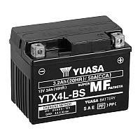 МОТО Yuasa 12V 3Ah  MF VRLA Battery AGM YTX4L-BS(сухозаряжений)