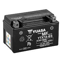 МОТО Yuasa 12V 6Ah MF VRLA Battery AGM YTX7A-BS(сухозаряжений)