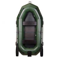 Удобная гребная надувная лодка Bark (Барк) B-280NP трехместная. Отличное качество. Доступная цена. Код: КГ3050