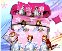 Детское полуторное постельное белье Принцесса София