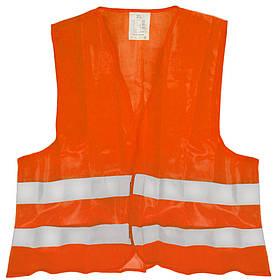 Світловідбиваючий Жилет безпеки (orange) 116B XL
