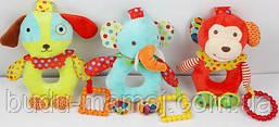 Детская игрушка погремушка прорезыватель для зубов