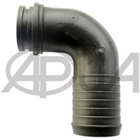 Патрубок угловой 32 мм 90° 1 1/4 дюйма помпы P100 P100S P110D Agroplast (Агропласт)