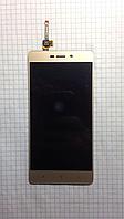 Дисплей LCD Xiaomi Redmi 3S золотой с тачскрином, фото 1