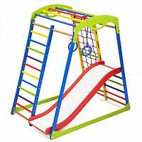Детский спортивный уголок раннего развития ребенка  детская Спортивная площадка SportWood Plus 1