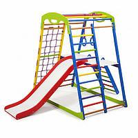 Детский спортивный уголок раннего развития ребенка  детская Спортивная площадка SportWood Plus 2