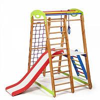 Детский спортивный уголок раннего развития ребенка  детская Спортивная площадка Кроха - 2 Plus 2