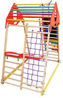 Детский спортивный уголок раннего развития ребенка  детская Спортивная площадка KindWood Plus