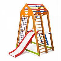 Детский спортивный уголок раннего развития ребенка  детская Спортивная площадка BambinoWood Plus 2