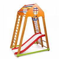 Детский спортивный уголок раннего развития ребенка  детская Спортивная площадка BambinoWood Plus 1