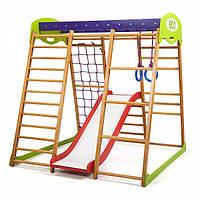 Детский спортивный уголок раннего развития ребенка  детская Спортивная площадка Карамелька Plus 1