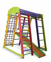 Детский спортивный уголок раннего развития ребенка  детская Спортивная площадка Акварелька мини