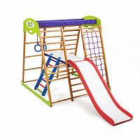 Детский спортивный уголок раннего развития ребенка  детская Спортивная площадка Карамелька Plus 2