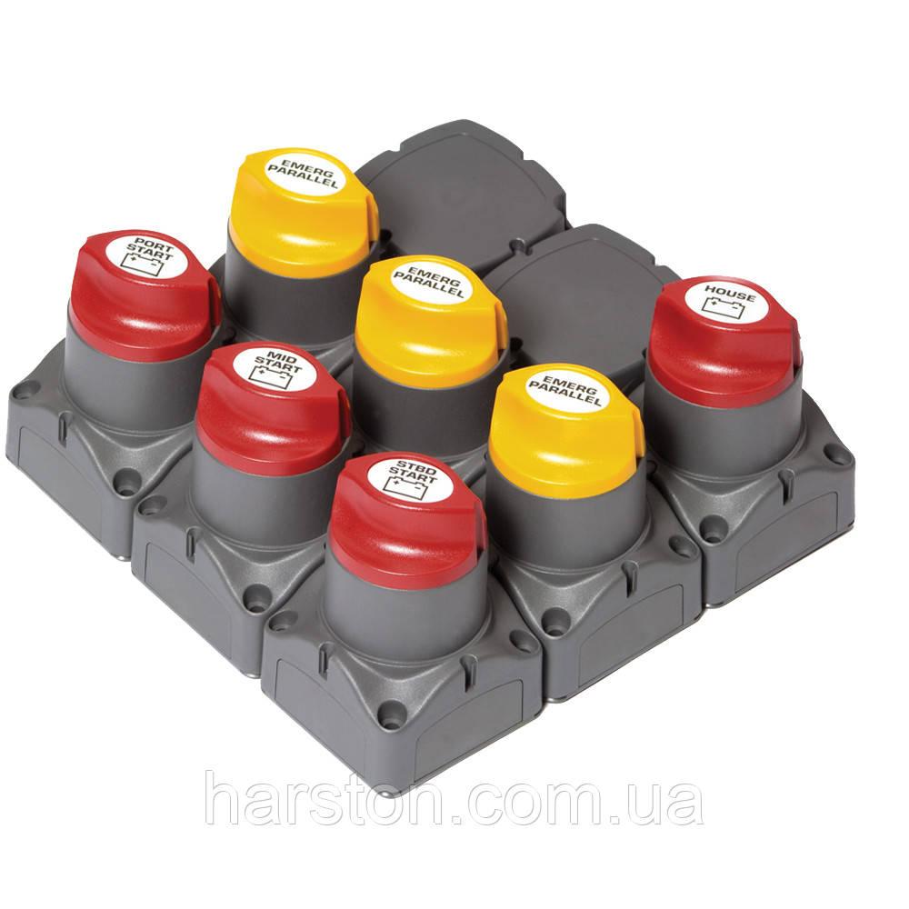 Кластер управления питанием для систем с тремя двигателями с дистанционным управлением