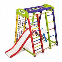 Детский спортивный уголок раннего развития ребенка  детская Спортивная площадка Акварелька Plus 2