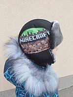 "Зимняя шапка для мальчика ""Minecraft"""