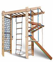 Шведская стенка детская спортивный уголок комплекс рукоход 2,1 (Сосна)