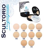 Пудра компактная с зеркалом SCULTORIO Compact powder