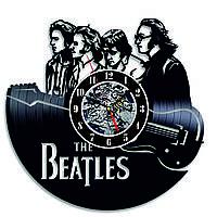 Настенные часы из виниловых пластинок LikeMark Beatles
