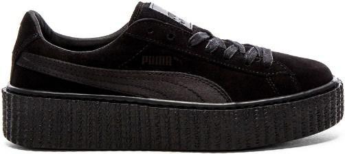 Puma х Fenty by Rihanna Creeper Velvet Black  5088e24c4c2c1