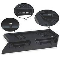 Подставка охладитель и зарядка для Джойсиков PS--4