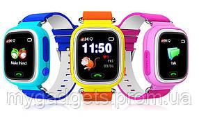 Детские часы Smart Baby Watch Q90 с GPS и сенсорный экран, фото 2