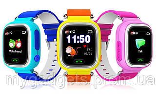 Детские часы Smart Baby Watch Q90 с GPS и сенсорный экран
