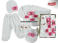 Комплект для новорожденных в коробке., фото 1