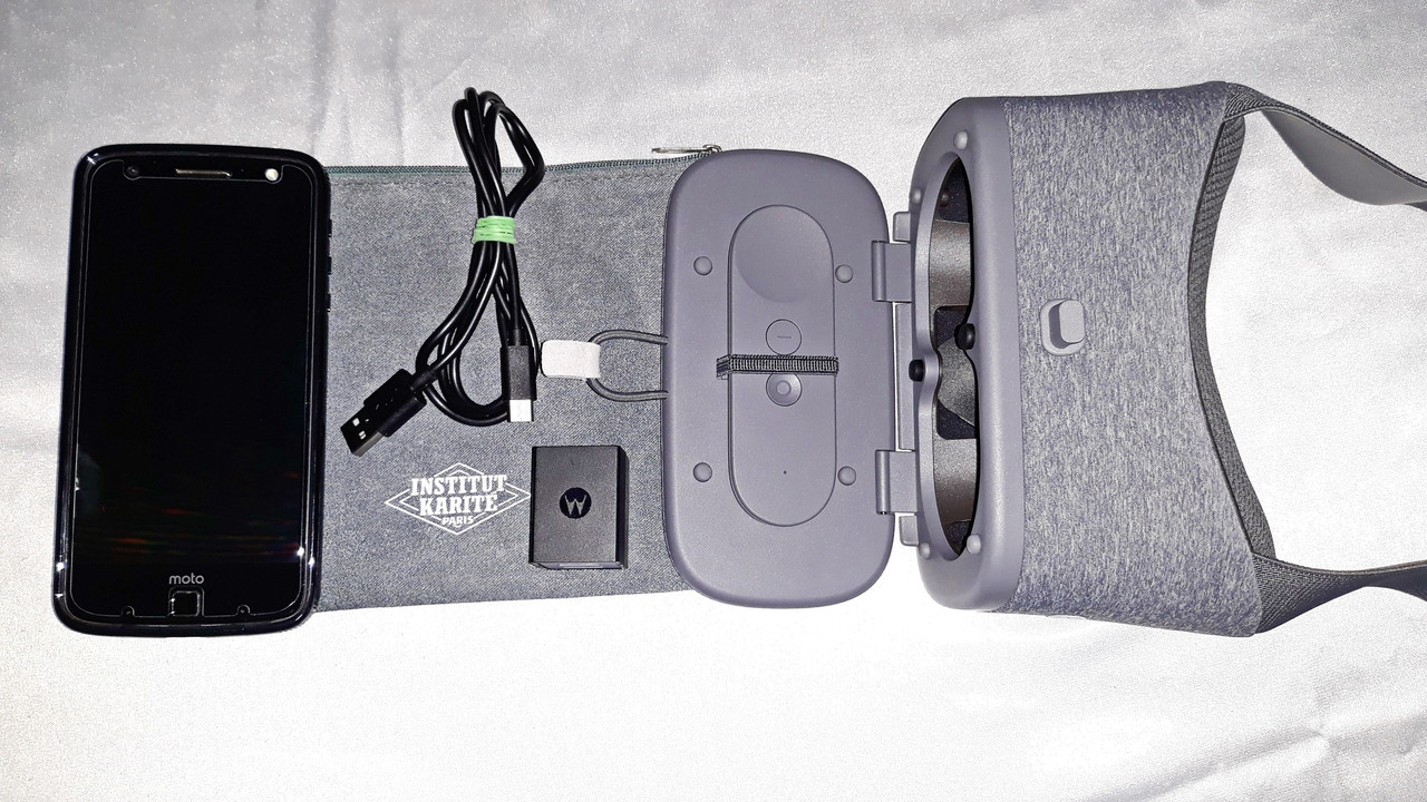 Motorola Moto Z Fofce 32GB (Moto Z Force Droid)+Очки виртуальной реальности Google DayDream.
