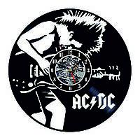 Настенные часы из виниловых пластинок LikeMark AC/DC