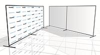 Конструкция пресс волл, баннер, press wall, фотозона